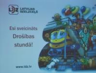 Latvijas dzelzceļa Drošības stunda