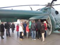 Ekskursija uz NBS Lielvārdes aviobāzi