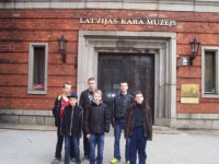 Vēstures stunda Latvijas Kara muzejā.