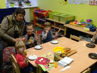 Tematiskā pēcpusdiena pirmsskolas 2. grupiņā: ,, Darbojamies un ēdam veselīgi!''